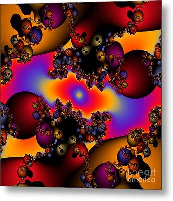 Abstract 49 Metal Print by Rolf Bertram