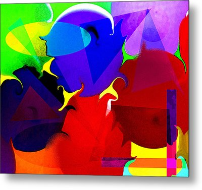 Abstract 6 Metal Print by Timothy Bulone
