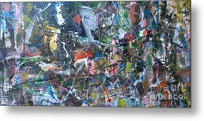 Abstract #69 - Revised Metal Print