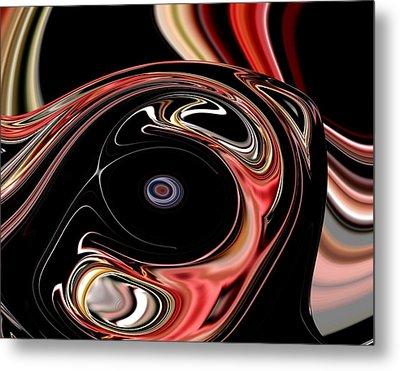 Abstract 7-26-09-b Metal Print by David Lane