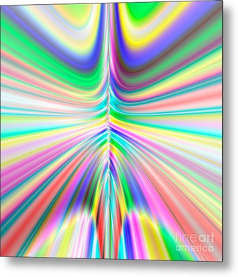 Abstract 701 Metal Print by Rolf Bertram