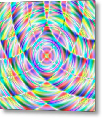 Abstract 722 Metal Print by Rolf Bertram