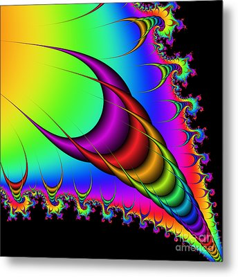 Abstract 77 Metal Print by Rolf Bertram