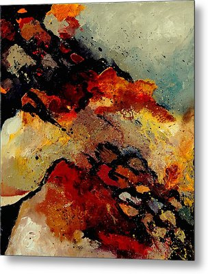 Abstract 780707 Metal Print by Pol Ledent