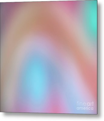 Abstract 8 Metal Print by Janet Burdon