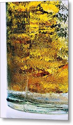Abstract #8442 Metal Print