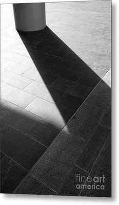 Abstract Architectural Shadows Metal Print by Emilio Lovisa