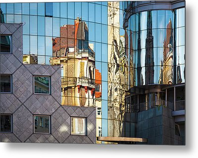 Abstract Architecture Metal Print