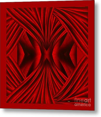 Abstract Art - Hot Secrets By Rgiada Metal Print by Giada Rossi