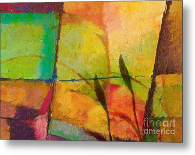 Abstract Art Primavera Metal Print by Lutz Baar