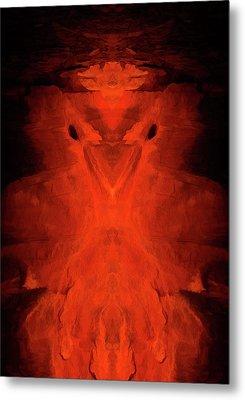 Abstract Bird 01 Metal Print by Scott McAllister