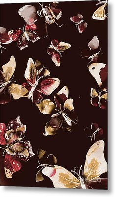 Abstract Butterfly Fine Art Metal Print by Jorgo Photography - Wall Art Gallery