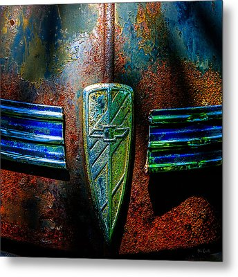 Abstract Cars Chevy Special Deluxe Metal Print by Bob Orsillo
