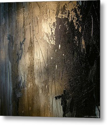 Abstract Color Study Metal Print by Lucas Armstrong