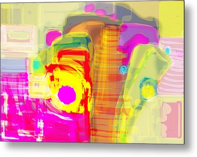 Abstract Colors Metal Print by Don  Wright