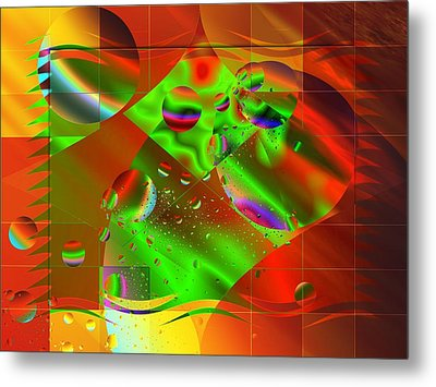 Abstract Covers Metal Print by Mario Carini