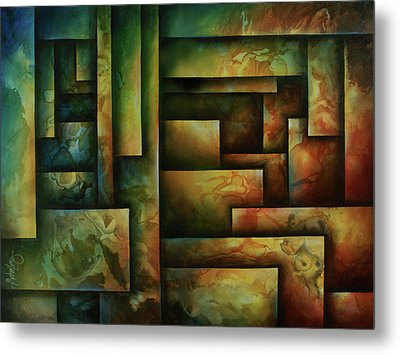 Abstract Design 102 Metal Print by Michael Lang
