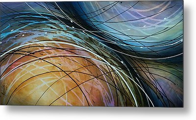 Abstract Design 41 Metal Print by Michael Lang