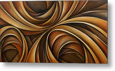 Abstract Design 43 Metal Print by Michael Lang