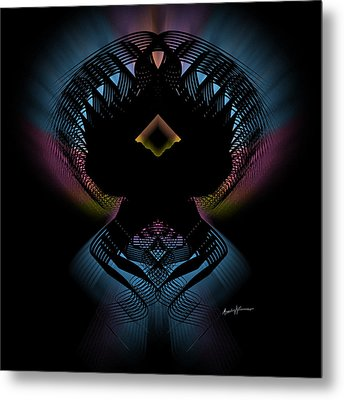 Abstract Design 5 Metal Print by Anthony Caruso