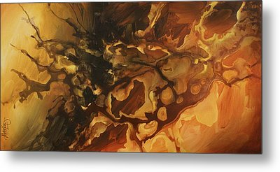 Abstract Design 75 Metal Print by Michael Lang