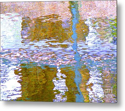 Abstract Directions Metal Print