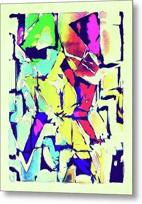 Abstract Explosion Metal Print by Susan Leggett