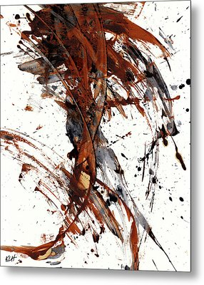 Abstract Expressionism Series 51.072110 Metal Print by Kris Haas