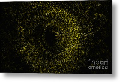 Abstract Floral Swirl No.1 Metal Print