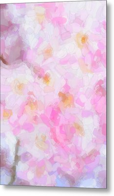 Abstract Flowers  Metal Print by Tommytechno Sweden