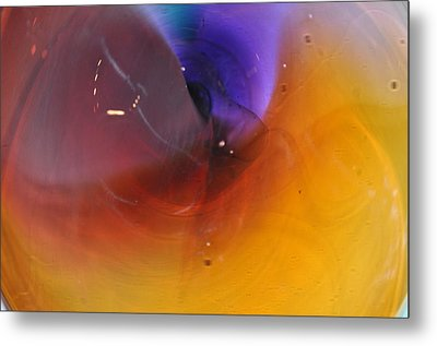 Abstract Glass 56 Metal Print by Marty Koch