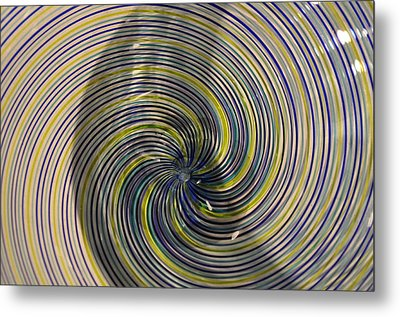 Abstract Glass 6 Metal Print by Marty Koch