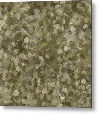 Metal Print featuring the photograph Abstract Gold And Cream 2 by Clare Bambers