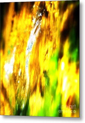 Abstract No.15 Metal Print by Mic DBernardo