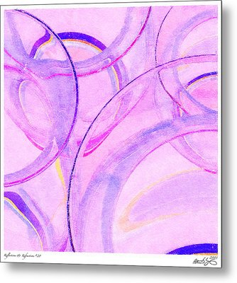 Abstract Number 20 Metal Print by Peter J Sucy