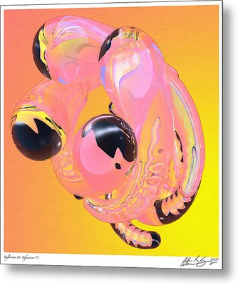 Abstract Number 5 Metal Print by Peter J Sucy