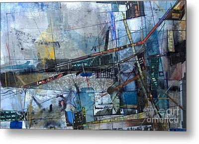 Abstract Nyc #2 Metal Print