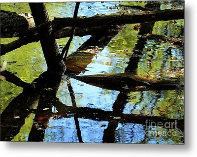 Abstract Of St Croix River 03 Metal Print