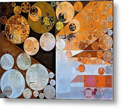 Abstract Painting - Loblolly Metal Print by Vitaliy Gladkiy