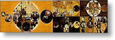 Abstract Painting - Sahara Metal Print