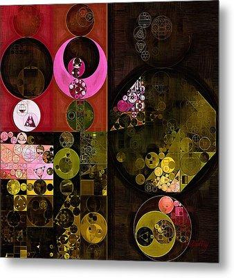 Abstract Painting - Tonys Pink Metal Print by Vitaliy Gladkiy