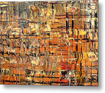 Abstract Part By Rafi Talby Metal Print by Rafi Talby
