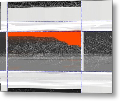 Abstract Planes Metal Print by Naxart Studio