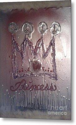 Abstract Princess Dreams Of Grandeur Metal Print
