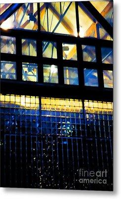 Abstract Reflections Digital Art #5 Metal Print