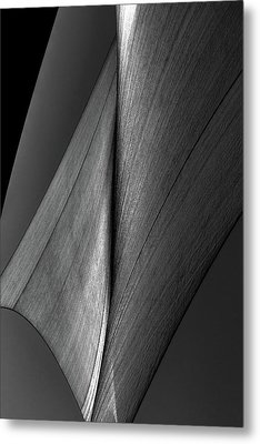 Metal Print featuring the photograph Abstract Sailcloth 199 by Bob Orsillo