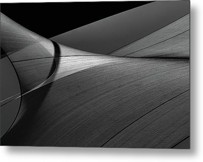Metal Print featuring the photograph Abstract Sailcloth 200 by Bob Orsillo
