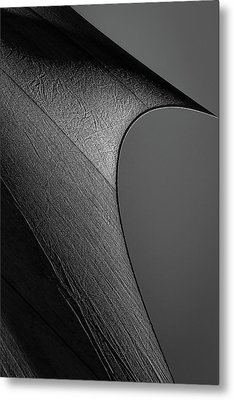 Metal Print featuring the photograph Abstract Sailcloth 201 by Bob Orsillo