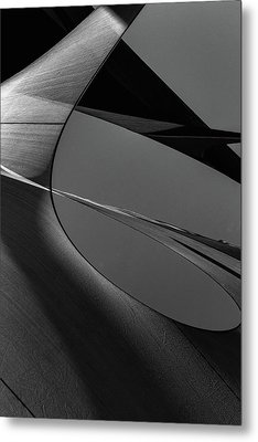 Metal Print featuring the photograph Abstract Sailcloth 202 by Bob Orsillo