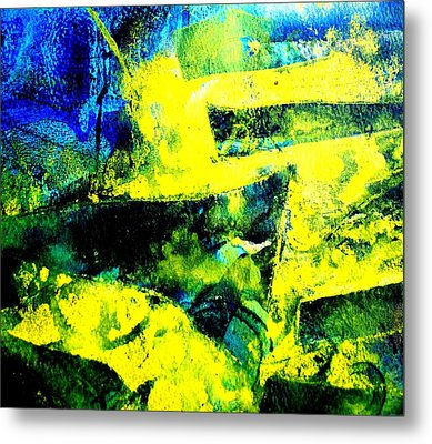 Abstract Scape Metal Print